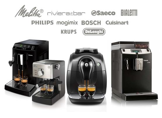 Machines à café de grandes marques