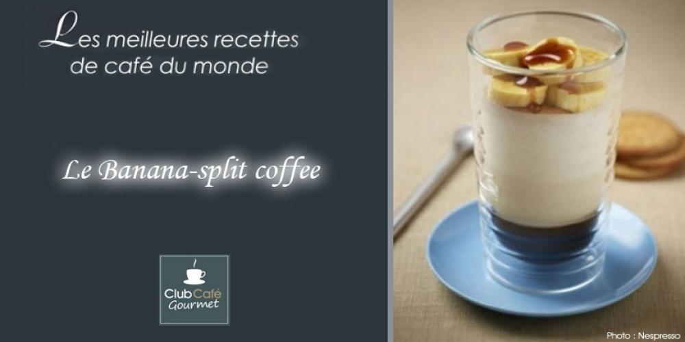 Le Banana-split coffee par Club Café Gourmet