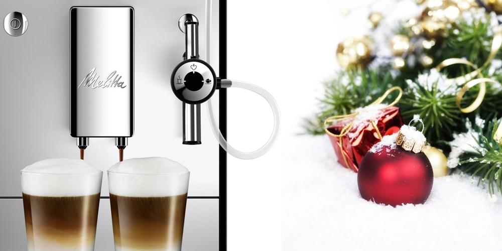 Offrez-vous une machine Melitta pour Noël et profitez d'un remboursement allant jusqu'à 220 €