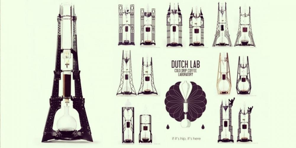 Dutch Lab : Un café préparé par une Tour Eiffel