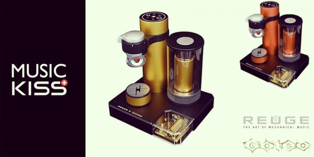 La machine à café musicale