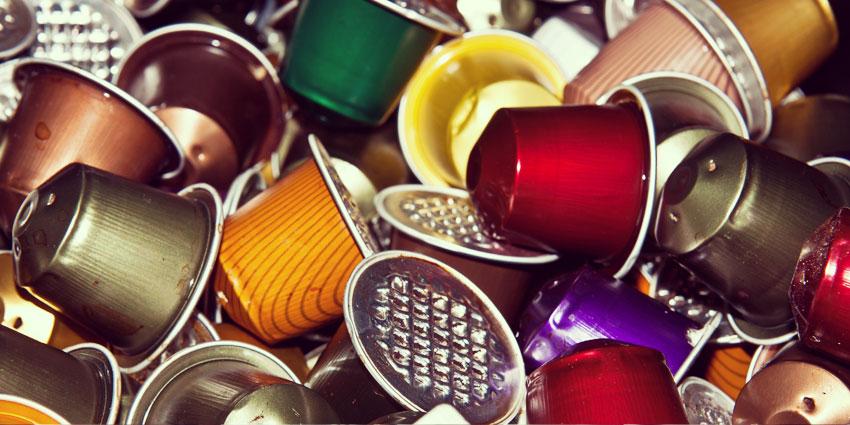 Magali fait de l'Art en recyclant ses capsules