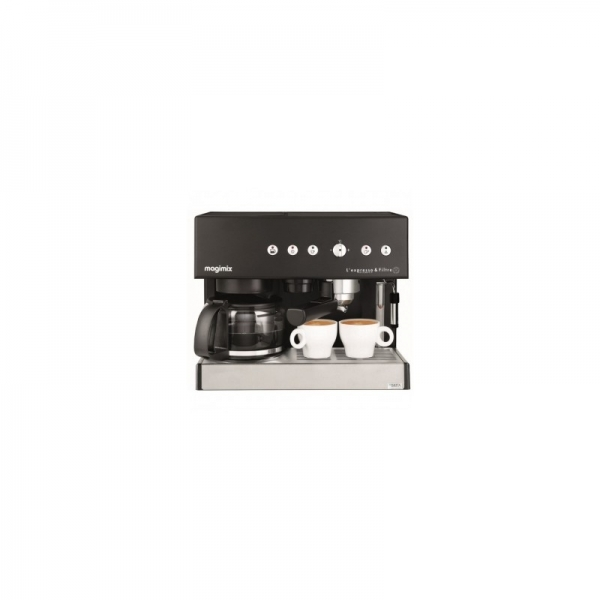 machine expresso combin e auto magimix noir. Black Bedroom Furniture Sets. Home Design Ideas