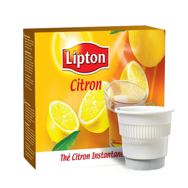 sachet de 20 boissons pr dos es th citron lipton sucr. Black Bedroom Furniture Sets. Home Design Ideas