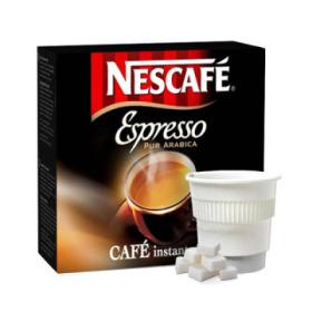 boisson pré-dosée nescafé espresso sucré x 20 dluo depassee