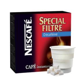 boisson pré-dosée café filtre décaféiné sucré x 20 dluo depassee