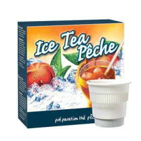 boisson pré-dosée froide ice tea pêche x 20 dluo depassee
