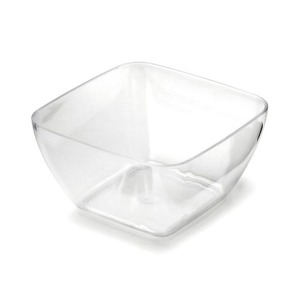 20 bols dégustation en plastique transparent 5 cm