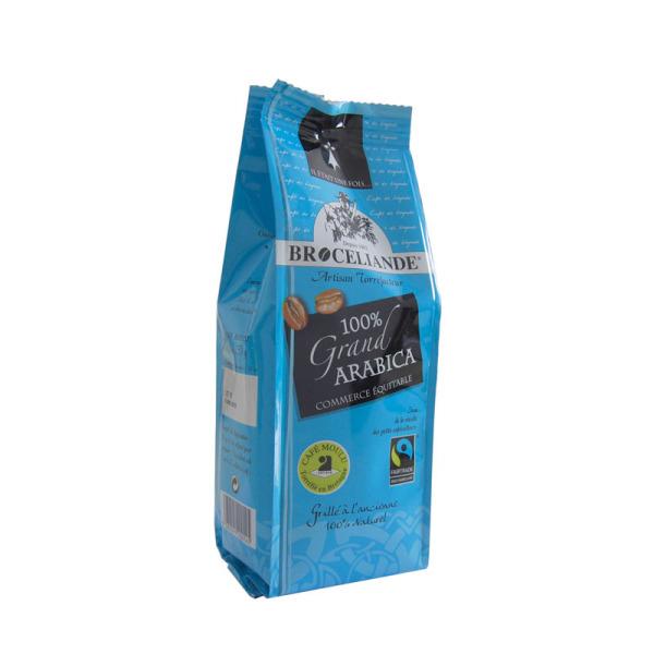 café moulu 100% grand arabica brocéliande - 250 g