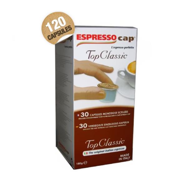 capsules top classic espresso cap x 120