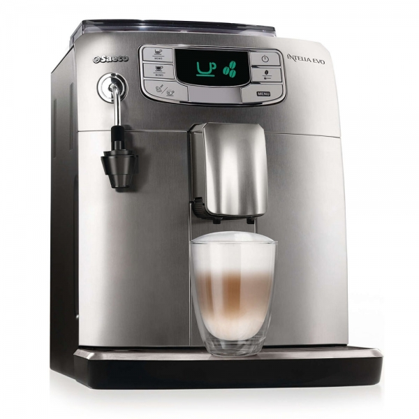 Machine super automatique saeco intelia argent hd8752 85 - Machine a cafe riviera ...