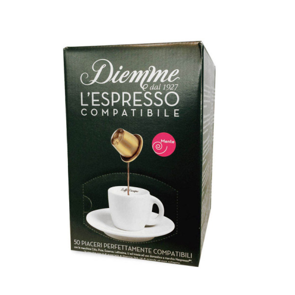 capsules nespresso compatibles mente caff diemme x 50. Black Bedroom Furniture Sets. Home Design Ideas
