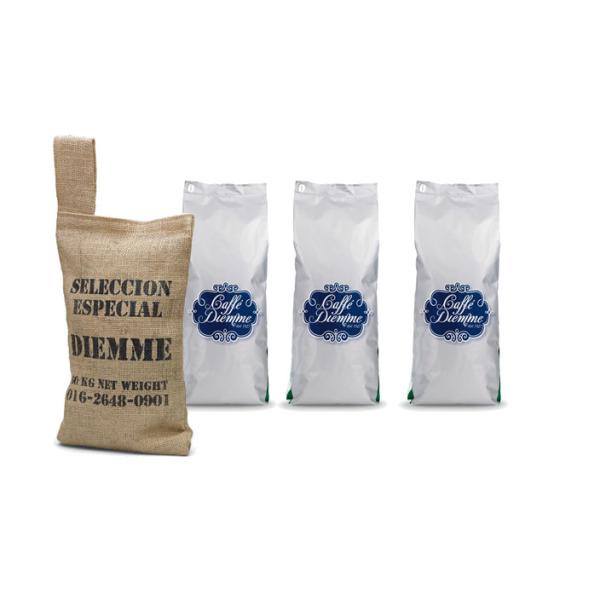 pack de café en grain miscela caffè diemme - 750 g