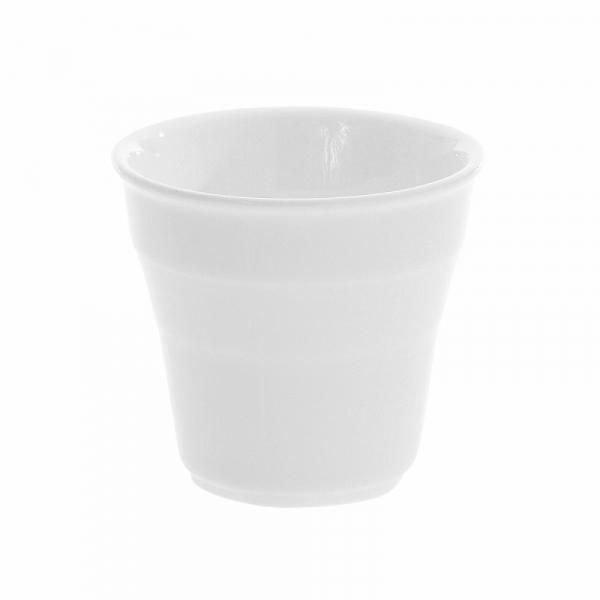 tasse gobelet pour café en porcelaine blanche biba