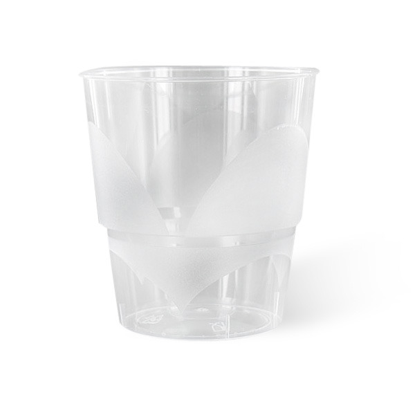 1000 verres en plastique transparent rigide de 22 cl. Black Bedroom Furniture Sets. Home Design Ideas