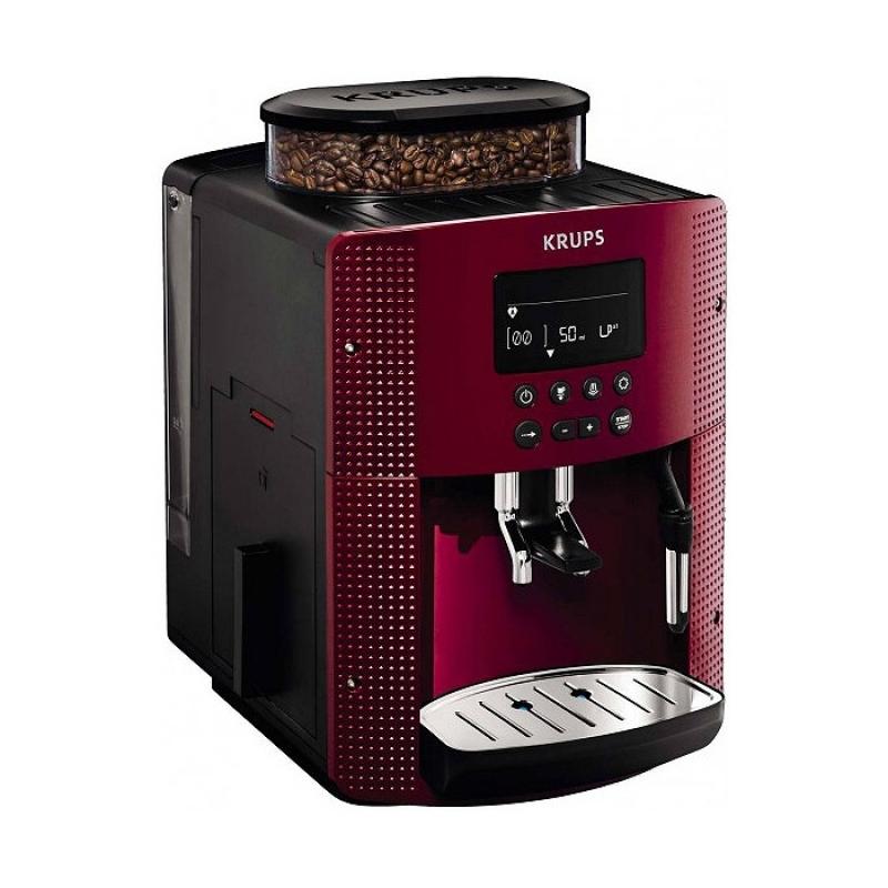 machine caf krups 15 bars tactile rouge ea815570. Black Bedroom Furniture Sets. Home Design Ideas