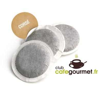 sac de 100 dosettes souples caf cors pour senseo dosettes senseo compatible. Black Bedroom Furniture Sets. Home Design Ideas