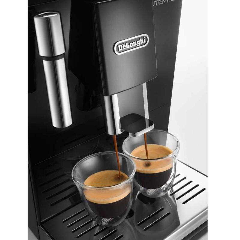 machine caf noire autentica broyeur grains de 39 longhi etam. Black Bedroom Furniture Sets. Home Design Ideas