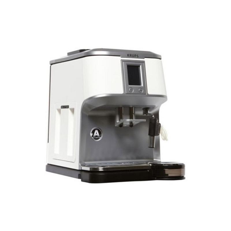 robot machine caf krups 15 bars ecran tactile blanc. Black Bedroom Furniture Sets. Home Design Ideas
