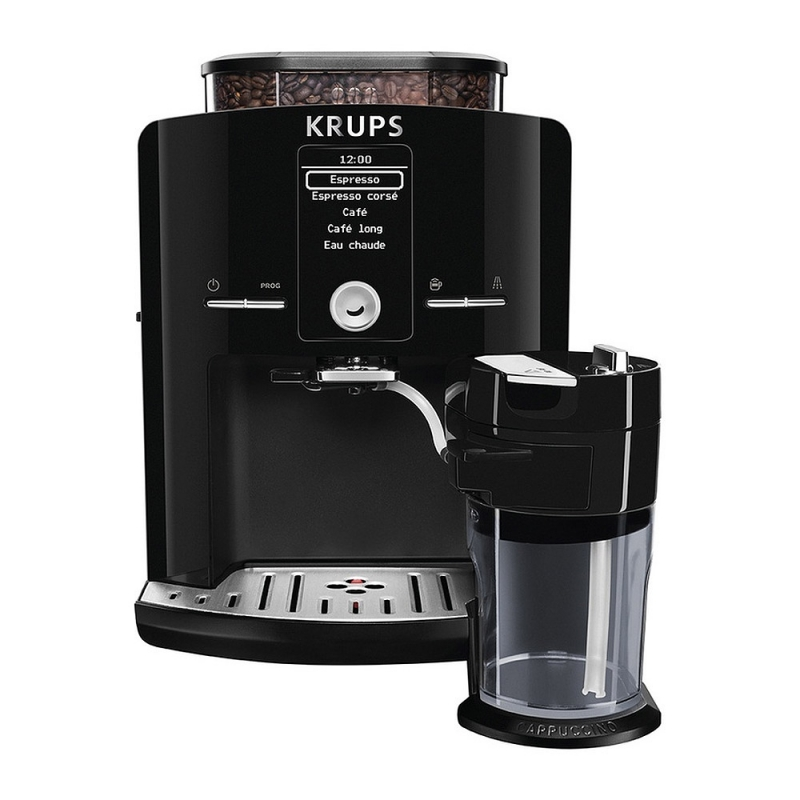 Machine caf krups noir yy8126fd - Machine a cafe krups nespresso ...