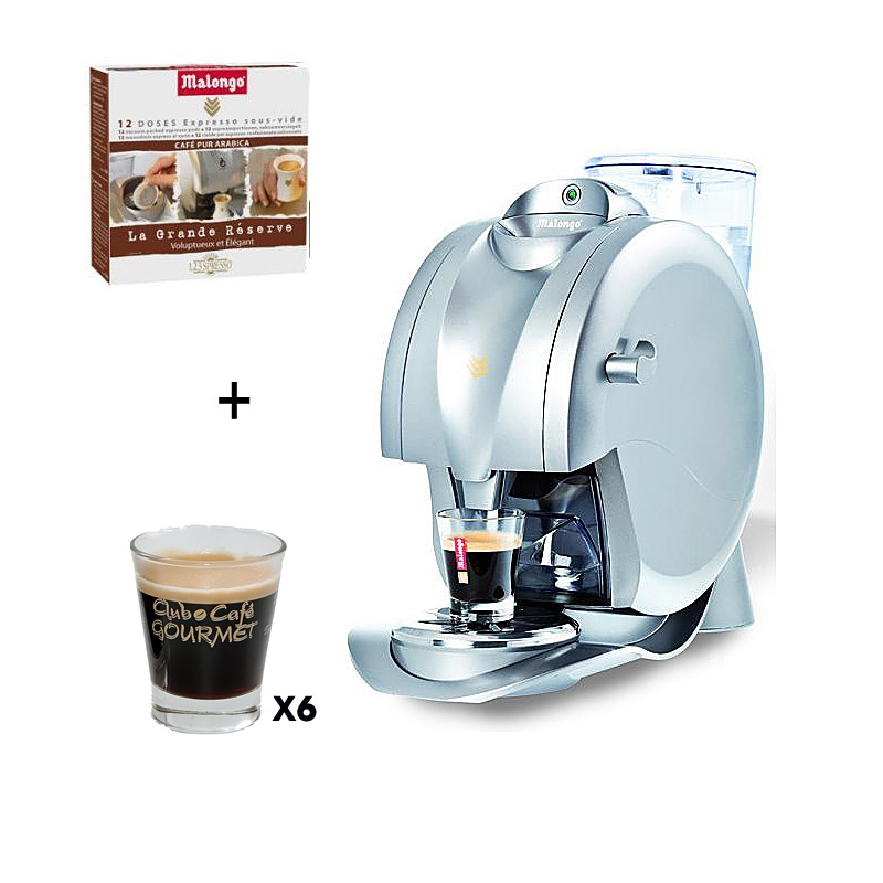 Machine expresso oh matic 24 doses 6 verres caffeino machines caf - Malongo machine a cafe ...