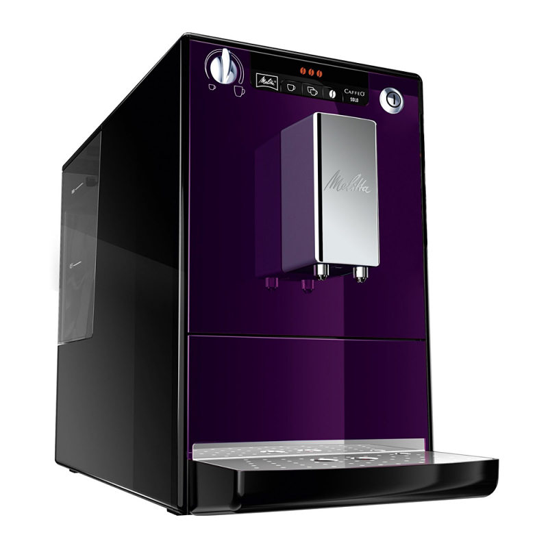 machine caf expresso caffeo solo violet et noir machines caf. Black Bedroom Furniture Sets. Home Design Ideas