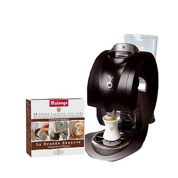 Cafeti re oh expresso 192 doses 123 spresso grande r serve machines caf - Malongo machine a cafe ...