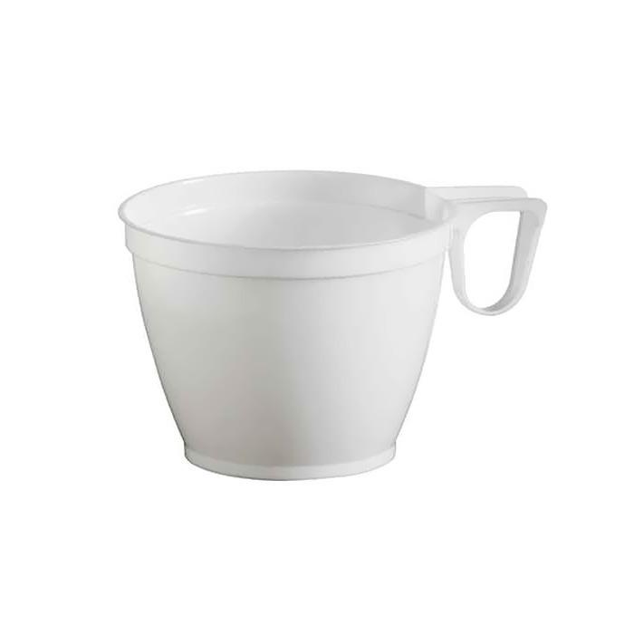 tasses caf plastique blanches tasses et gobelets. Black Bedroom Furniture Sets. Home Design Ideas