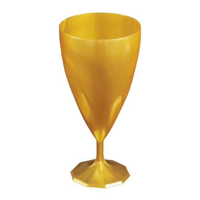 Verre eau jetable design or x 6 - Verre a eau design ...